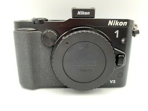 """MINT"" Nikon 1 V3 18.4MP Digital Camera Black Body Mirrorless From Japan"
