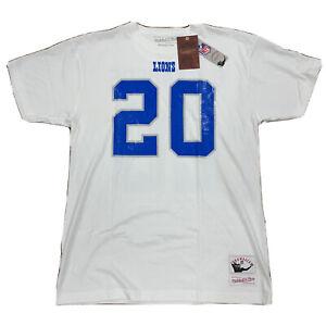Mitchell & Ness Barry Sanders Detroit Lions Jersey Shirt, Size Medium NWT
