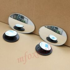 2X Universal Vehicle Adjustable Auxiliary Blind Spot Mirror Rear Side View Parts