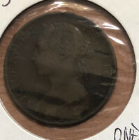 1893 GREAT BRITAIN PENNY COLLECTIBLE COIN KM#755