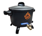 MELTING POT 5 QUART WAX MELTER/WAX MELTING WITH SPOUT / WARRANTY/ELECTRIC
