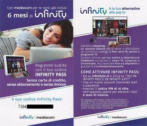 Infinity+ Pass 6 mesi