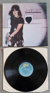 JOAN JETT - BAD REPUTATION - ORIGINAL UK ISSUE LP ON EPIC RECORDS - 1981 - VGC