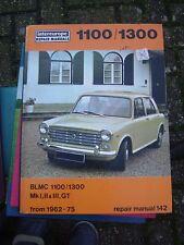 BLMC 1100/1300 Mk l, ll, lll, GT Intereurope Repair Manual