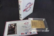 1992 TOPPS HIGHLAND MINT FRANK THOMAS BRONZE MINT CARD COA #3366/5000