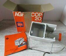 Old Vintage Agfa Agfascop-20 Slide Viewer Working in Original Box