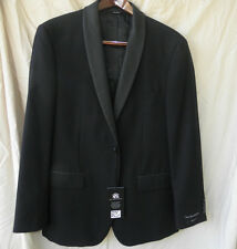 Men's Formal Jacket w/satin lapels ROCK n REPUBLIC Blk Shadow Chek NWT Mens 42R