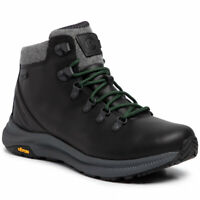 Merrell Ontario Thermo Mid WP Men's Black Hiking Boots 9.5