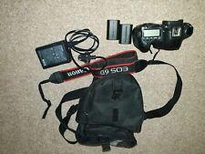Canon EOS 6D 20.2MP Fotocamera Digitale Solo Corpo-Nero ~ 25k dell'otturatore