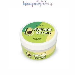 Esfolio Avocado Jelly Pack All Skin Types 3.53oz / 100g NIB