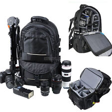 Multifunction DSLR Camera Backpacks Bags Photo Cases Canon Nikon Sony Shockproof