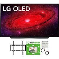 "LG 48"" CX 4K Smart OLED TV with AI ThinQ 2020 + TaskRabbit Installation Bundle"