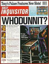 Who Dunnit Pinball - CPU Rom 1.2 [U6] [Bally / Williams] EPROM
