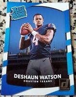 DESHAUN WATSON 2017 Donruss #1 Draft Pick RATED Rookie Card RC Texans $$ HOT $$