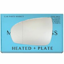 For Mercedes CLC-Class 2008-11 Left Side Aspheric Electric Mirror Glass +plate
