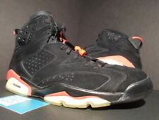 2010 NIKE AIR JORDAN VI 6 RETRO BLACK INFRARED 23 PACK WHITE RED 384664-003 11.5