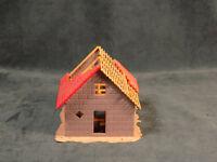 VINTAGE TRAIN HOUSE HALF BUILT HO SCALE BUILDING