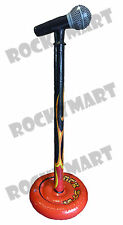 Inflatable Standing Flame Microphone -Almost 3 FT Tall- Rock Party Prop RM1622