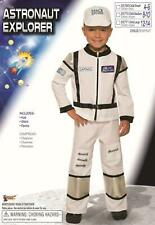Astronaut Explorer Child White Space Jumpsuit Costume Small 4-6