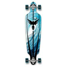 Yocaher Punked Drop Through Tsunami Longboard Complete
