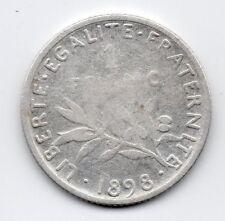 France - Frankrijk - 1 Franc 1898