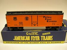 6-48205 American Flyer Pacific Fruit Reefer in OB