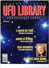 WoW! International UFO Library v2#1 / Star Trek's James Doohan! UFOlogy Women!