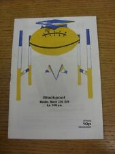 27/03/1978 Rugby League Programme: Doncaster v Blackpool Borough  (rusty staple)
