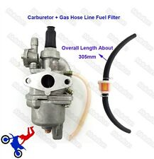 Carburetor + Gas Line Fuel Filter For 47cc 49cc Mini Moto ATV Pocket Dirt Bike