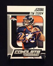 TIM TEBOW AUTOGRAPHED CARD