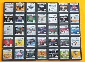Nintendo DS Games Boys Lot Super Fun Pick/Choose Game/s ~ Mario SBK Sims Ben 10