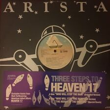"""HEAVEN 17 WHO WILL STOP THE RAIN/THE HEIGHT OF THE FIGHTING 12"""" OG PROMO 1982 EX"""