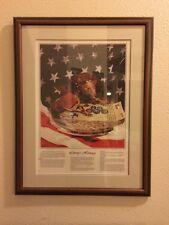 Nice Gary Crouch Liberty's Heritage Framed Picture Artist Signed # 2/2500w/COA