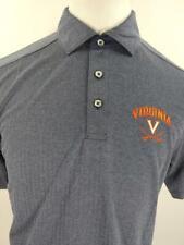 Virginia Cavaliers Mens M Blue Champion Polo Shirt Basketball Ncaa Nwt