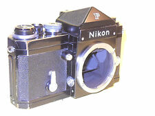Nikon F black in very good condition, perfectly working