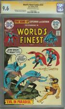 WORLD'S FINEST COMICS #222 SS CGC 9.6 SIGNED BY NICK CARDY AUTO BATMAN SUPERMAN
