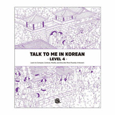 Talk To Me In Korean Level 4 Book Hangul Hangeul for beginners Grammar Textbook