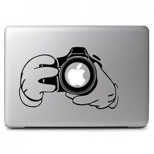 Mickey Help You Take A Photo f Apple Macbook Air Pro Laptop Vinyl Decal Sticker
