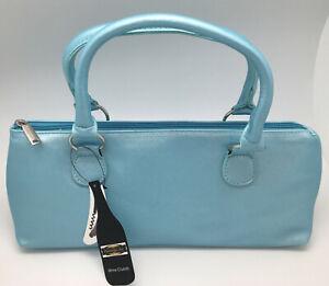 NEW Primeware Wine Clutch Thermal Insulated Purse Bag w/Corkscrew Aqua Blue Gift
