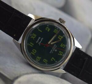 Rare Vintage HMT 17Jewels Winding Wrist Watch For Men's Wear B-1896