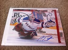 Cam Talbot Autographed 8x10 Photo NY Rangers Edmontan Oilers Canada PROOF