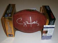 PACKERS Clay Matthews signed NFL Duke game football JSA COA AUTO Autographed