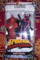 Ghost Spider Legends Spider-Man Maximum Venom Marvel Hasbro New Venompool BAF
