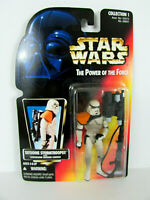 Kenner Star Wars Power of the Force Tatooine Stormtrooper on Red Card 1996 - NEW