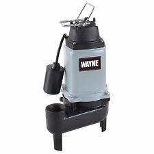 Wayne 1/2 HP Cast Iron Sewage Pump