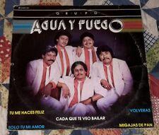 """GRUPO AGUA Y FUEGO """"TU ME HACES FELIZ"""" TROPICAL CUMBIAS ROMANTICAS RARE LP VG+"""