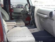2008 Jeep WRANGLER center console gray color 2/WD  OEM DASH JK bazel GLOVE BOX