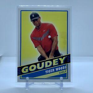 LOT (x5) 2020 Upper Deck Goodwin Champions TIGER WOODS Golf PACK FRESH 🔥 GOUDEY