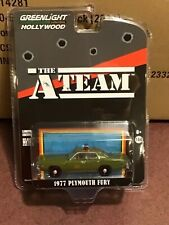 Greenlight Hollywood Special Edition 77 Plymouth Fury Colonel Decker The A-Team