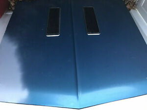 1967 OEM Chevrolet Chevy Chevelle Hood With what looks like Nova SS Louvers